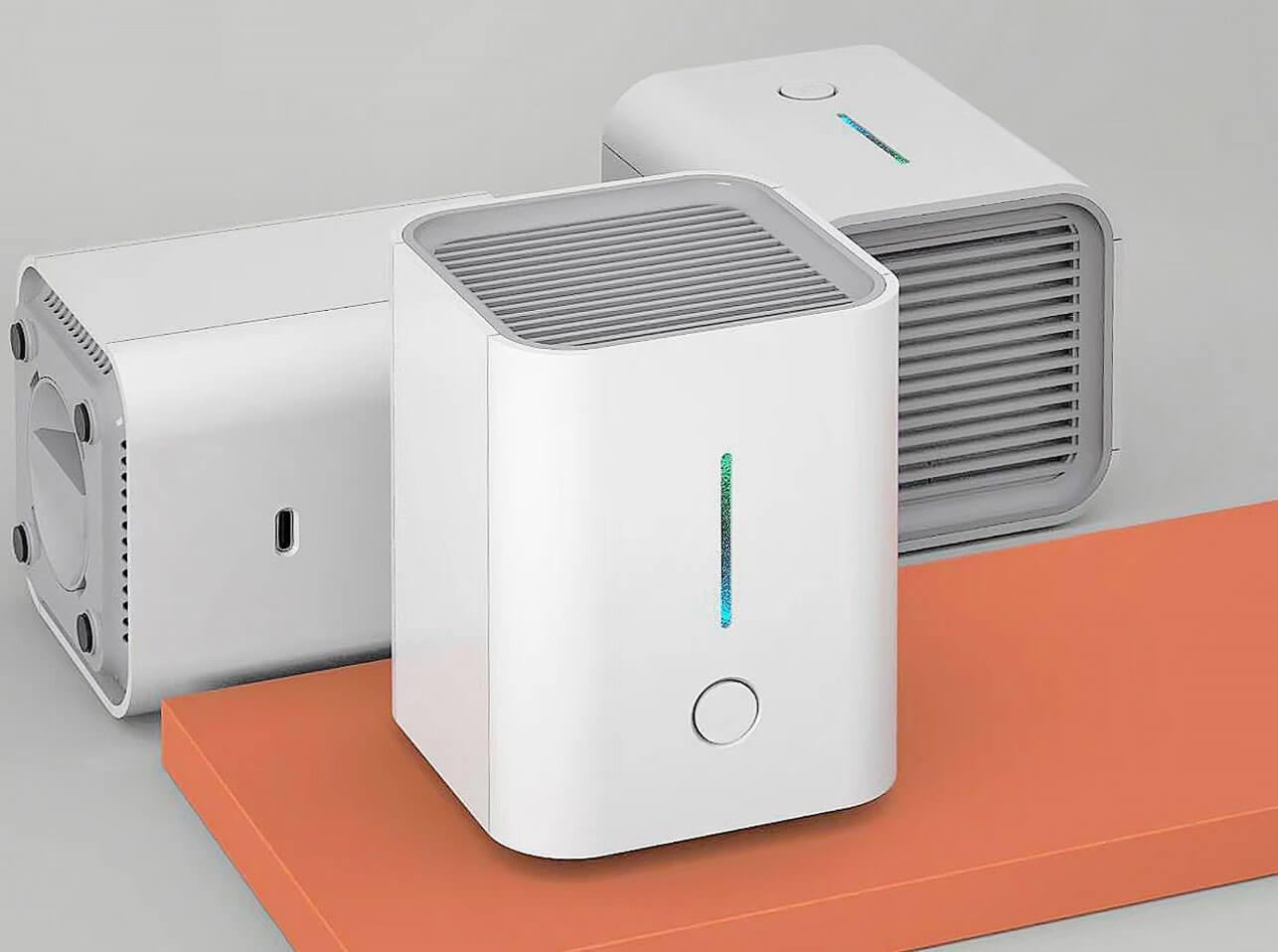 PHOEU Desktop Luftreiniger mit HEPA, UV und Photokatalyse
